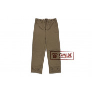 Trousers, Field, Cotton O.D.