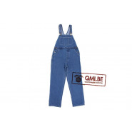 Bib Overall, Stonewashed Denim (Men)
