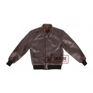Type A-2 Leather Flight Jacket (cowhide)