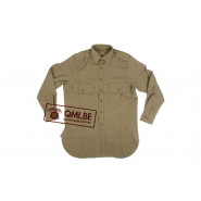 Mustard shirt M-1937, Officers (De Brabander Mfg. Co.)