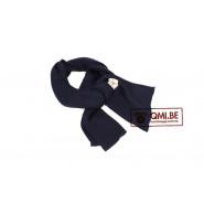 Wool scarf, blue (US Navy)