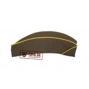 Garrison cap, WAC Enlisted O.D. (Yellow-Green)