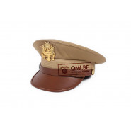 Visor hat, officer's Khaki (Deluxe version)