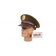 Visor hat, officer's (OD)