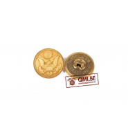 Button, Service Coat, Brass (19 mm)