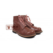 Service Shoes, (Brown leather)