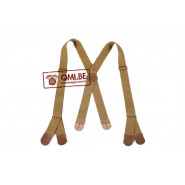 Suspenders, Trousers, Khaki (Model 1)