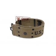 Pistol belt, M-1936, OD NO. 7 (Black eyelet)