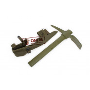 Pick Mattock, Entrenching Tool M-1910 and carrier
