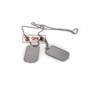 U.S. Dog Tags (2 tags + chains)