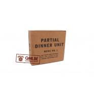 Partial Dinner Unit, D-1