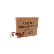 Partial Dinner Unit, D-2