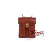Pocket, magazine (Colt.45), Brown leather w/ hooks