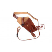 Leather Shoulder holster M3, (Colt.45) Brown