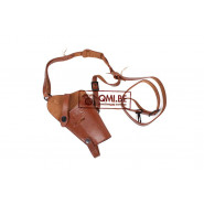 Leather Shoulder holster M7, (Colt.45) Brown