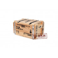 Wooden ammo crate (Cartridges cal. 50 linked)