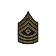 Patch, First Sergeant, OD (pair)