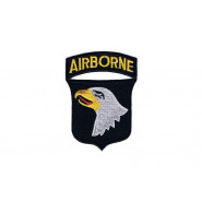 Patch, 101st Airborne Division (Black border)