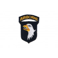 Patch, 101st Airborne Division (white tongue)