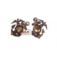 Collar pin, U.S.M.C. (pair)
