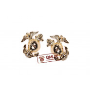 Collar pin, U.S.M.C. (gold) (pair)