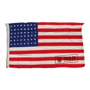 Flag, U.S. 48 stars, Cotton (90cm x 155cm)