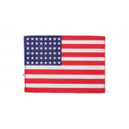 Patch, U.S. Flag (48 stars) - 12 cm x 8 cm