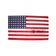 Flag, U.S. 48 stars, Nylon (90cm x 155cm)