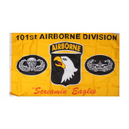 Flag, 101st Airborne Div. (Yellow)