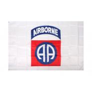 Flag, 82nd Airborne Div. (White)