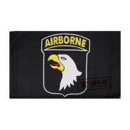 Flag, 101st Airborne Div. (Black)