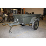 US WW2 Jeep Trailer