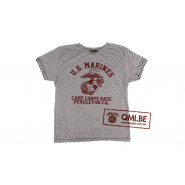 T-shirt, Gray, U.S. Marines, Camp Corps Base, Pendleton California