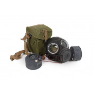 British Gas mask + bag (Original)