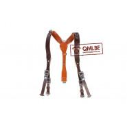 "German Leather ""Y"" straps (Koppeltragegestell), brown"