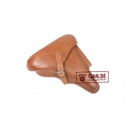 Holster, Luger P08 (Natural leather)