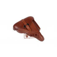 "P38 Holster, marked ""dvr 42 "" (Brown leather)"