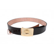 Leather Belt, Artillery buckle