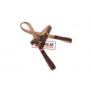 Shovel carrier, strap type (brown)