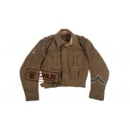 British WWII orig. BD jacket, Size 11