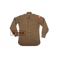 Private purchase US WW2 Officers shirt, Size 38