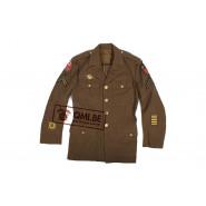 US WW2 orig. Class-A jacket, CPL, size 37R