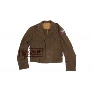 "US WW2 tailor made ""IKE"" jacket 39R"