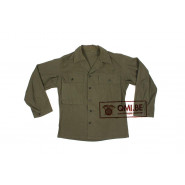 US WW2 HBT jacket, 38R (2)
