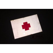 Sign, Reflective, Red Cross, (60 x 40 cm.)