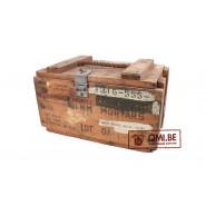 Original US Wooden Crate 81mm Mortars