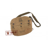 Original US WW2 M6 Army lightweight service gasmask bag