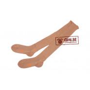Original US WW2, Stockings, Cotton, Beige, Women's (Excelwear Hosiery, size 8)