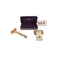 Original US WW2, Gilette Brass Razor + blades