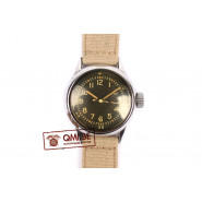 Original WW2 US Navy Watch by Waltham (Khaki strap)